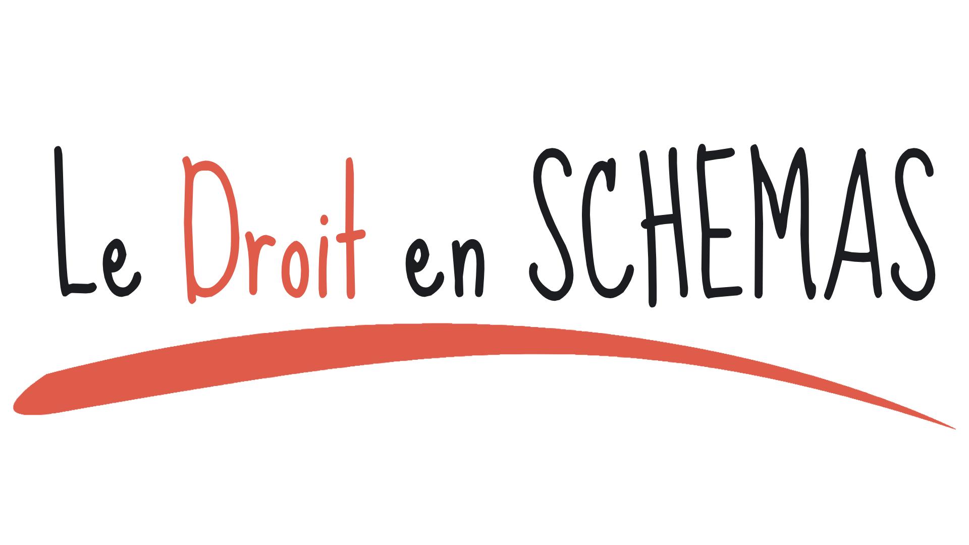 Logo droit en schémas